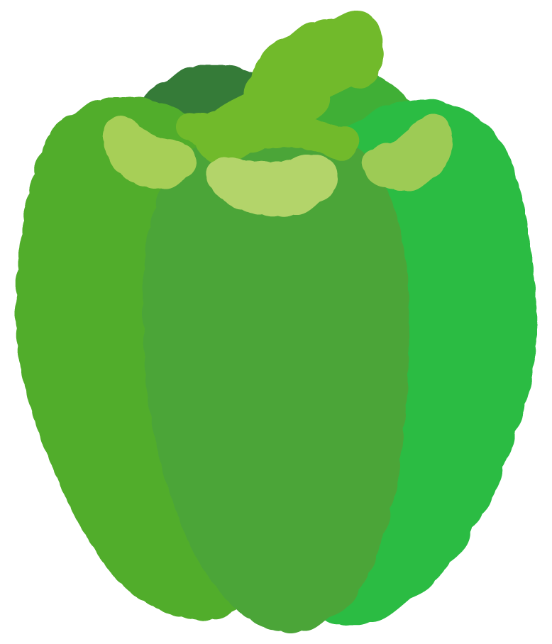 緑のパプリカ