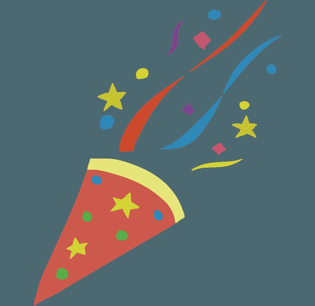 パーティーのイラスト ケーキに楽しいお祝いシーン素材 チコデザ