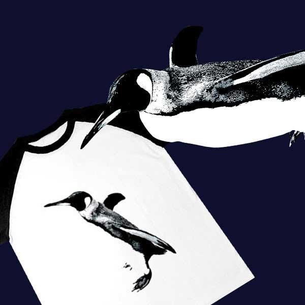 ペンギンTシャツ - ザ・クールなアニマルグッズ★