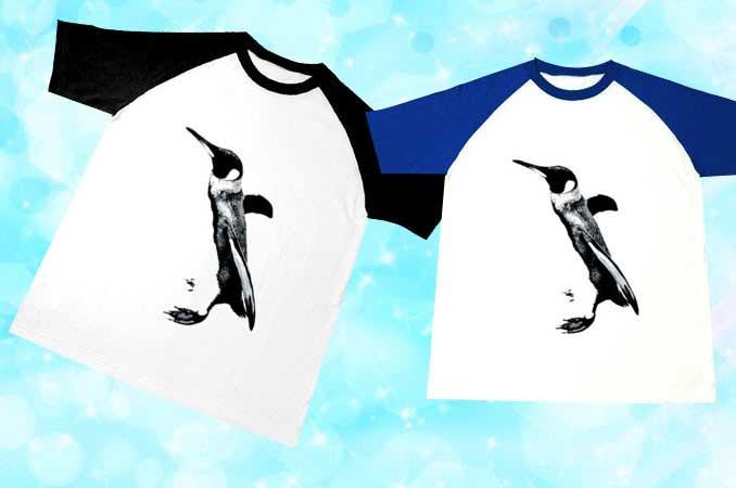 ペンギンラグランTシャツ