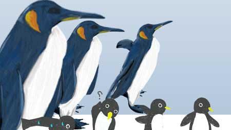 ペンギンイラスト - 可愛いさ満点!最もクールな動物素材