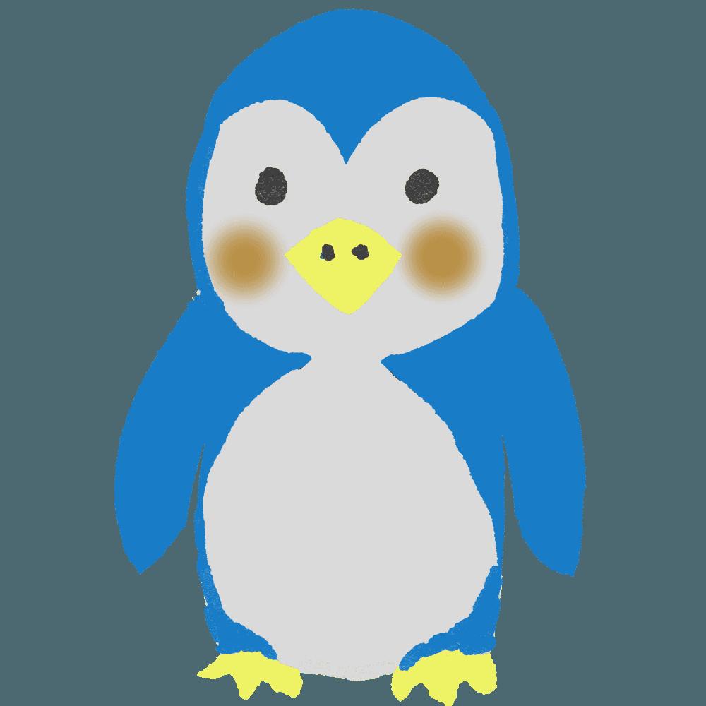 可愛いペンギンイラスト