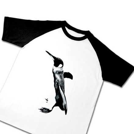 ラグランのペンギンTシャツ