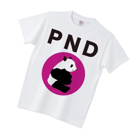 PNDパンダTシャツノーマルホワイト