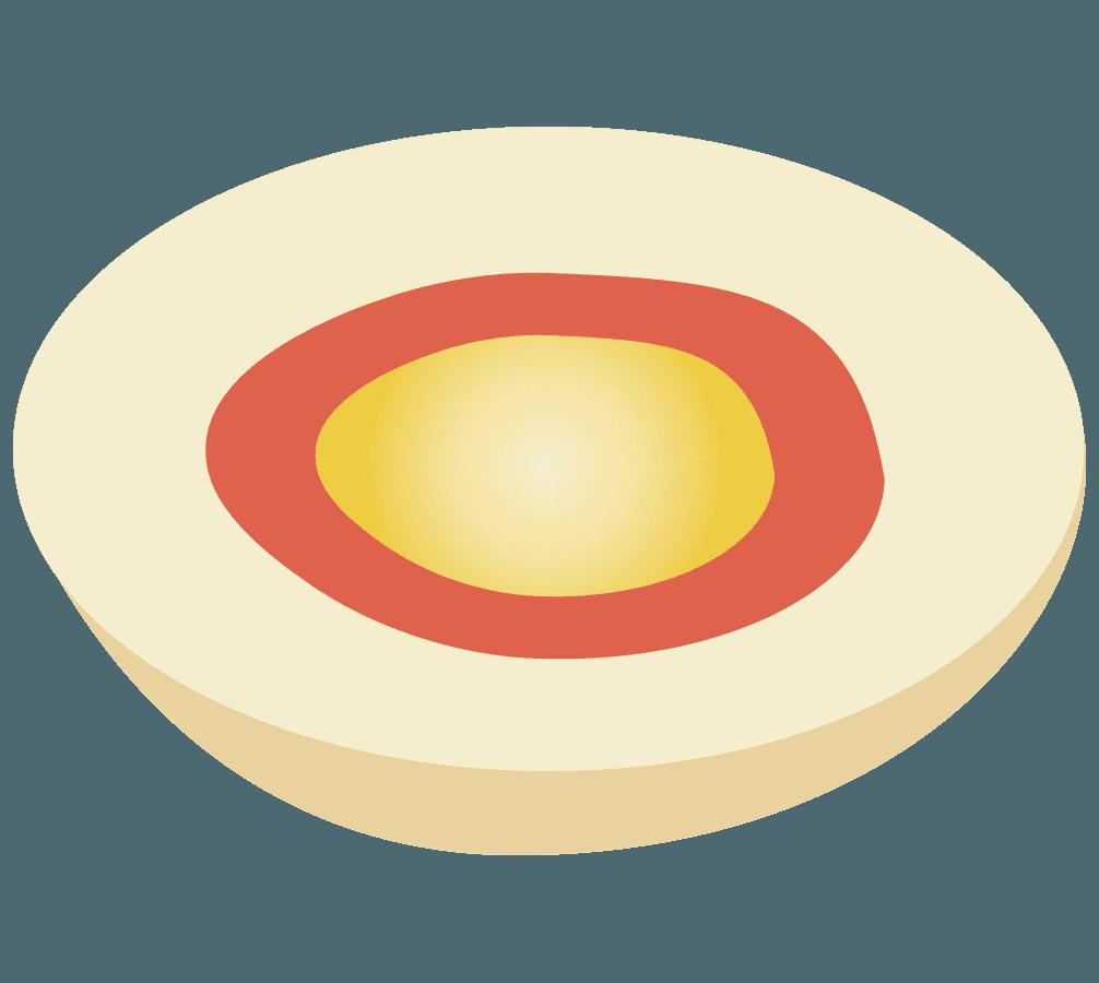 煮卵のイラスト