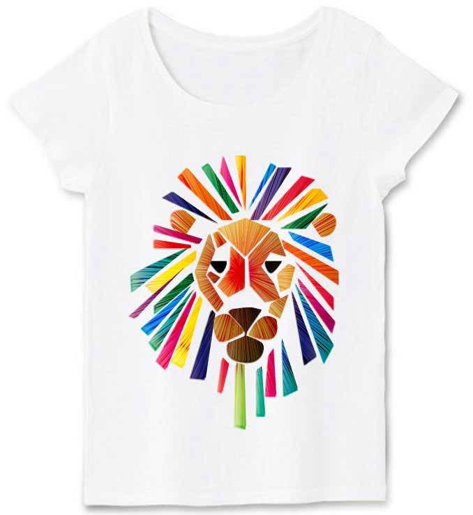 ビビッドライオンTシャツ