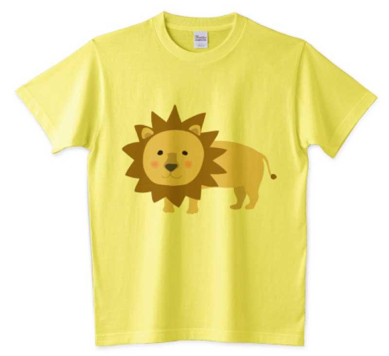 百獣の王ライオンTシャツ