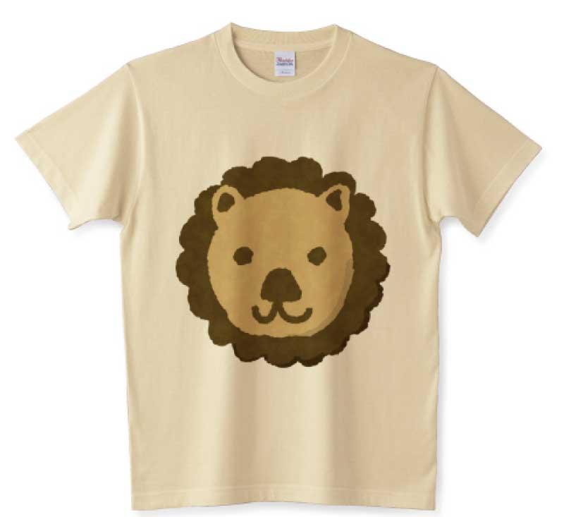 ライオンクッキーTシャツ