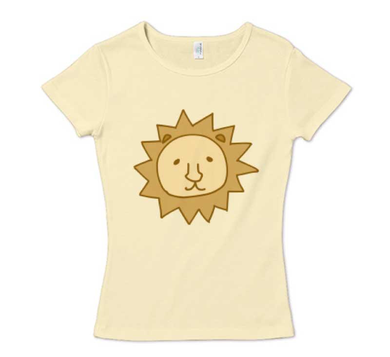 ライオンさんキングTシャツ