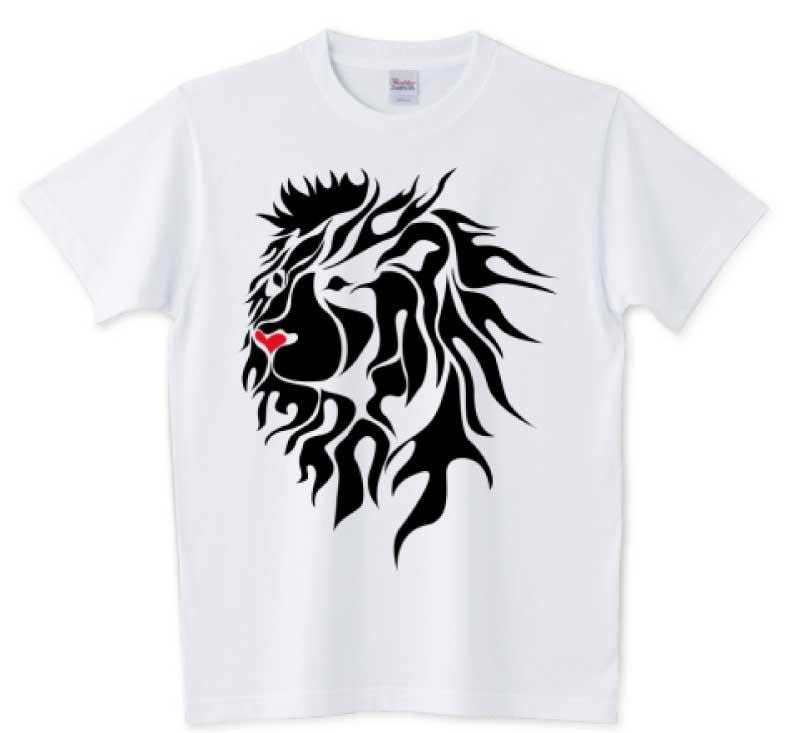 ストライプライオンTシャツ