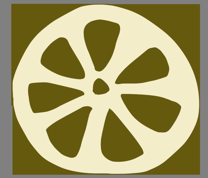 穴が三角なレンコンイラスト