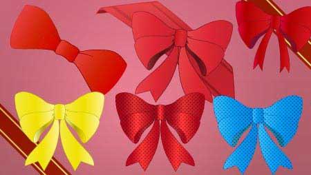 リボンイラスト - 全て無料!可愛い装飾デザイン素材集。
