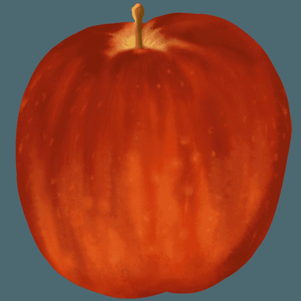 りあるなりんごイラスト