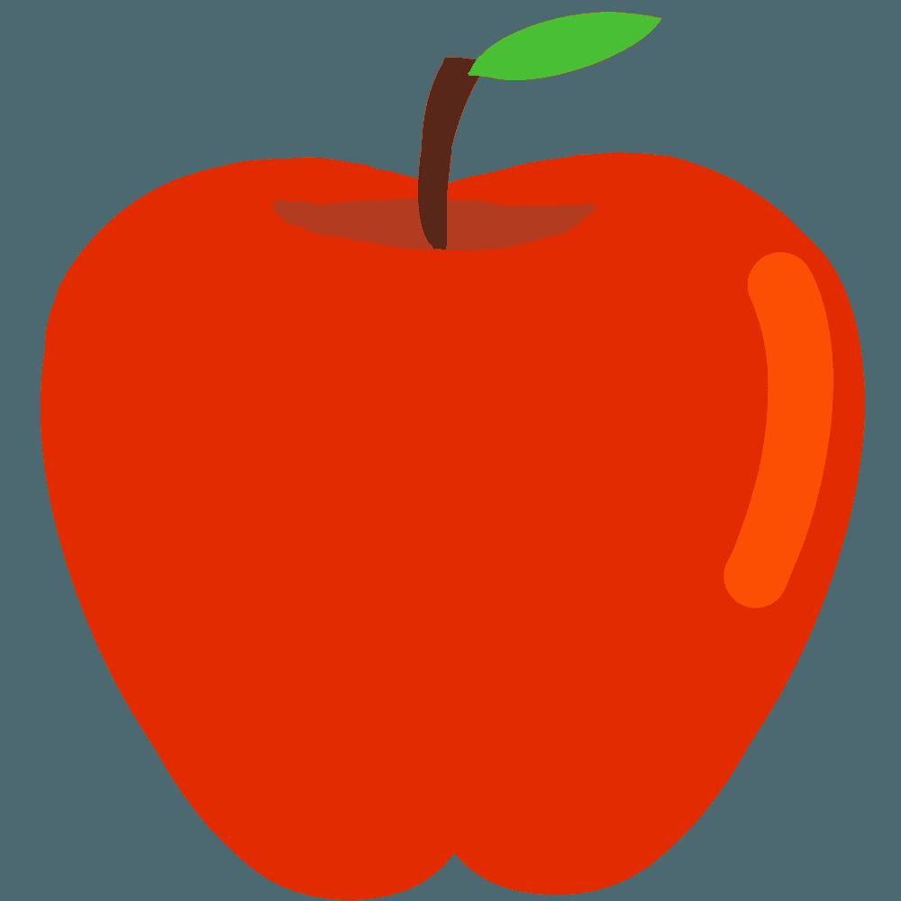 ベクターっぽいりんごイラスト