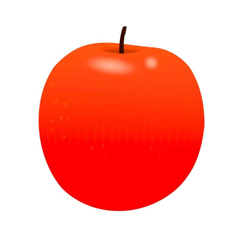 りんごの高解像度png