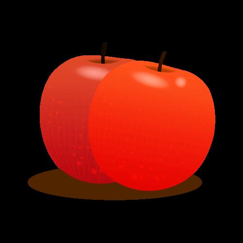 りんごの挿絵イラスト