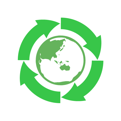 地球リサイクルのイラスト2