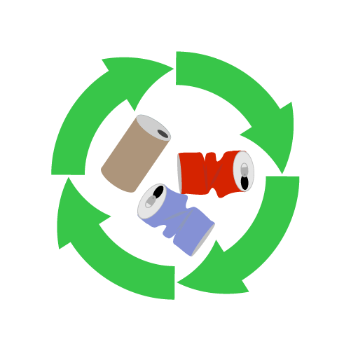 リサイクルのイラスト
