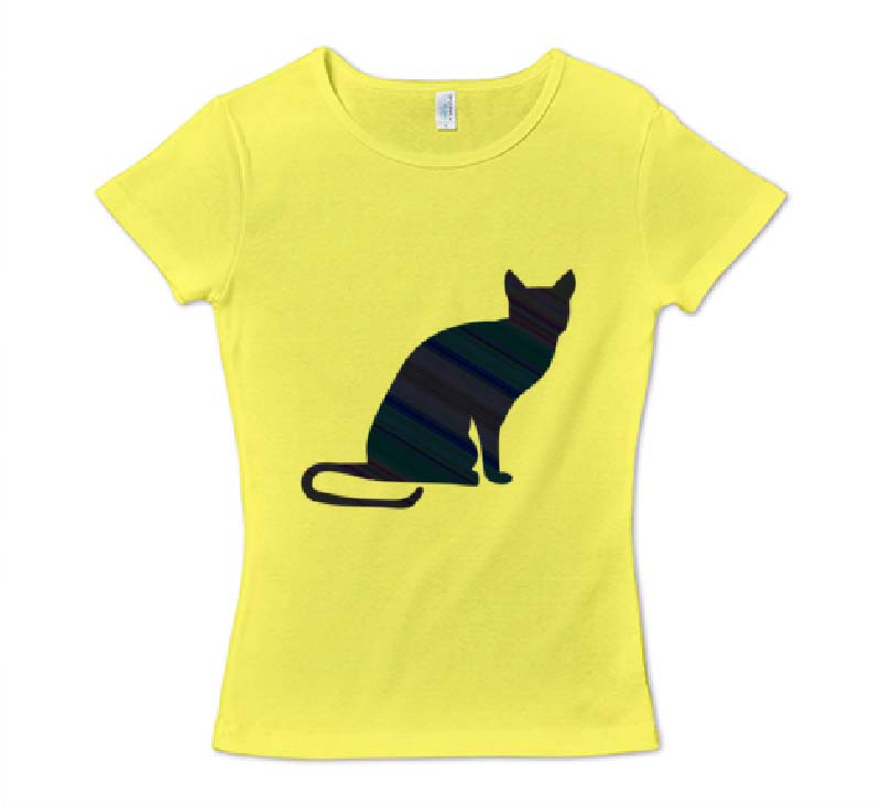 ロシアンブルーフライスTシャツ