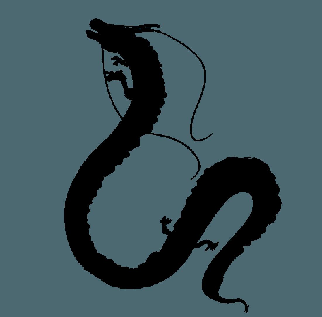 可愛い龍のイラスト - フリーの空想動物素材 - チコデザ