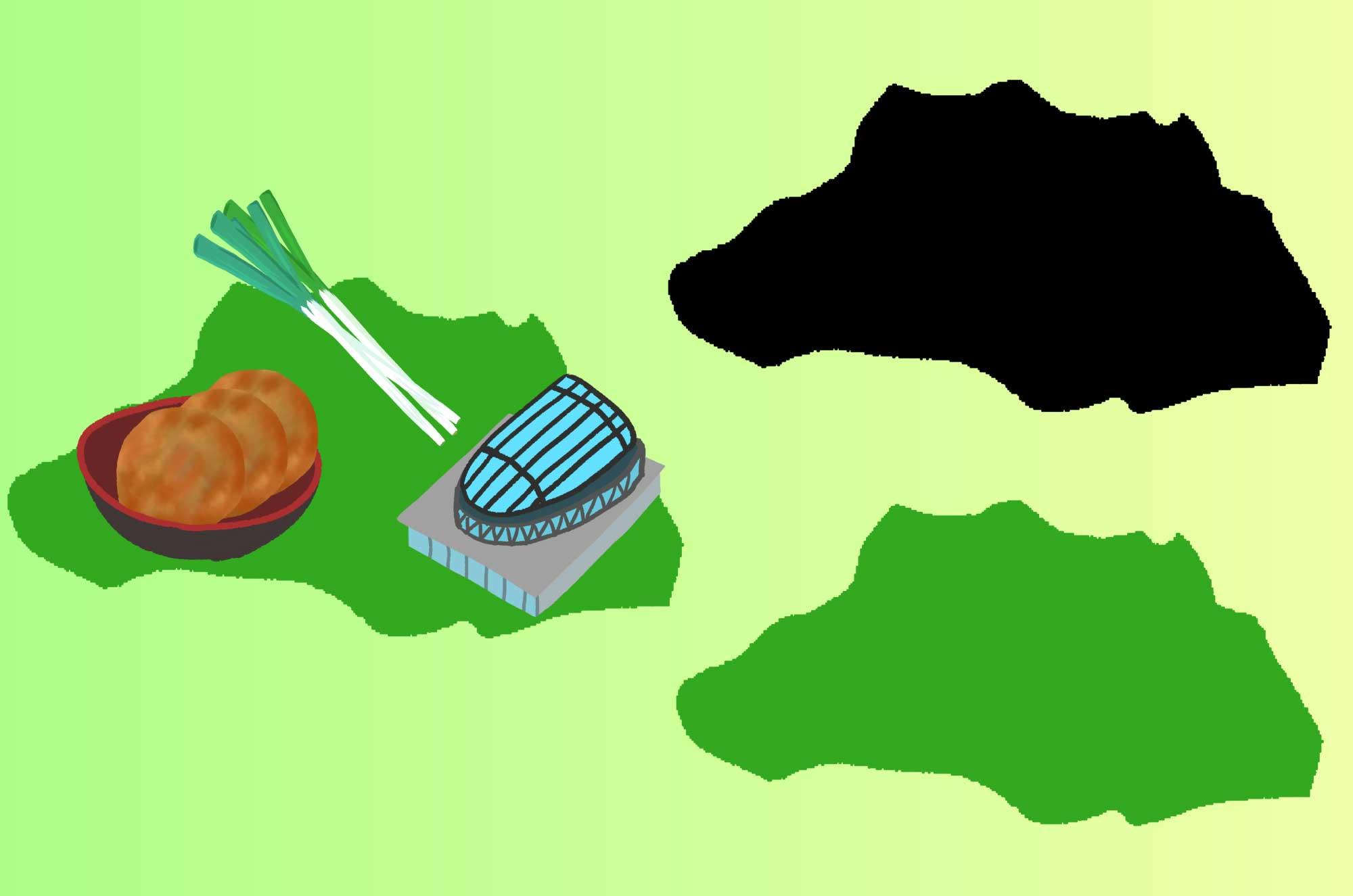 埼玉の無料イラスト - 大陸・地図のフリー素材