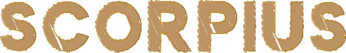 SCORPIUSのアートな文字