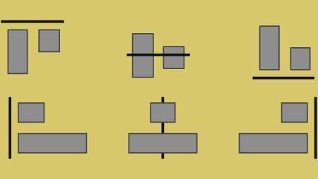 イラストレーター整列機能