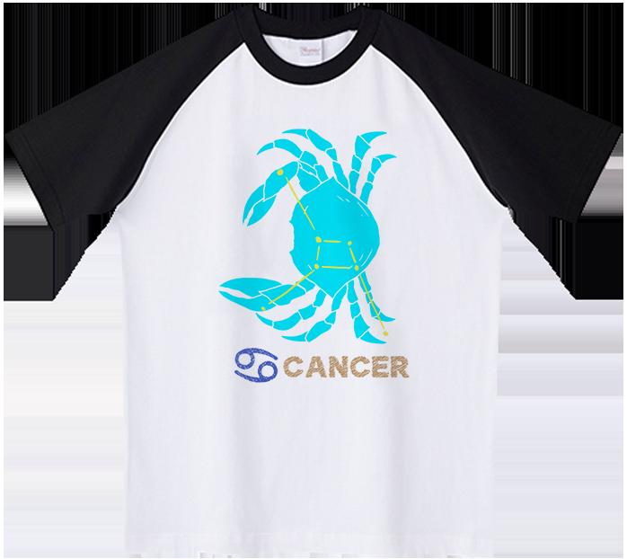 蟹座(かに)Tシャツ