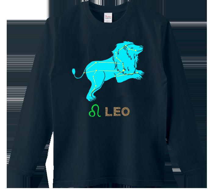獅子座(しし)Tシャツ
