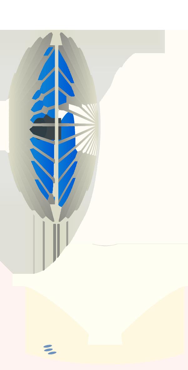 扇風機のイラスト<br>(白・横)