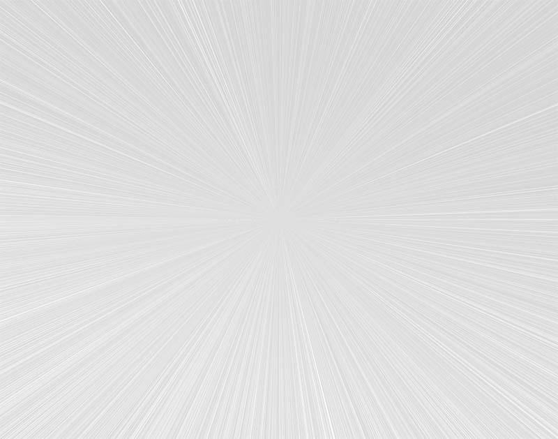 先進的な集中線のイラスト(白)