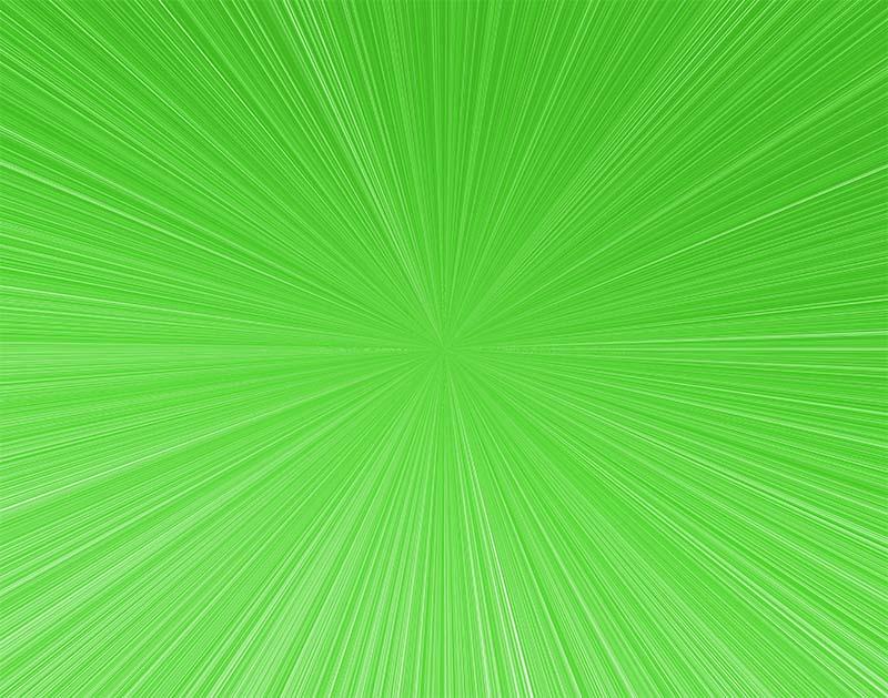 先進的な集中線のイラスト(黄緑)