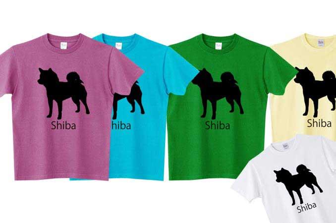 5.6オンスの柴犬Tシャツ