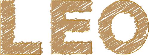 LEOのアートな文字