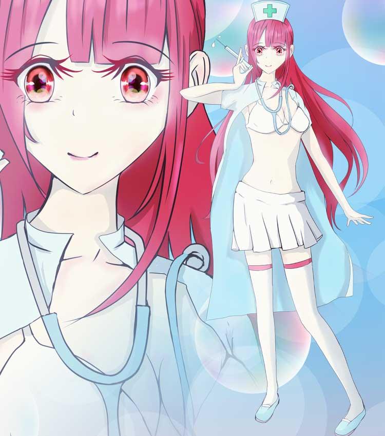 看護婦の可愛い女の子