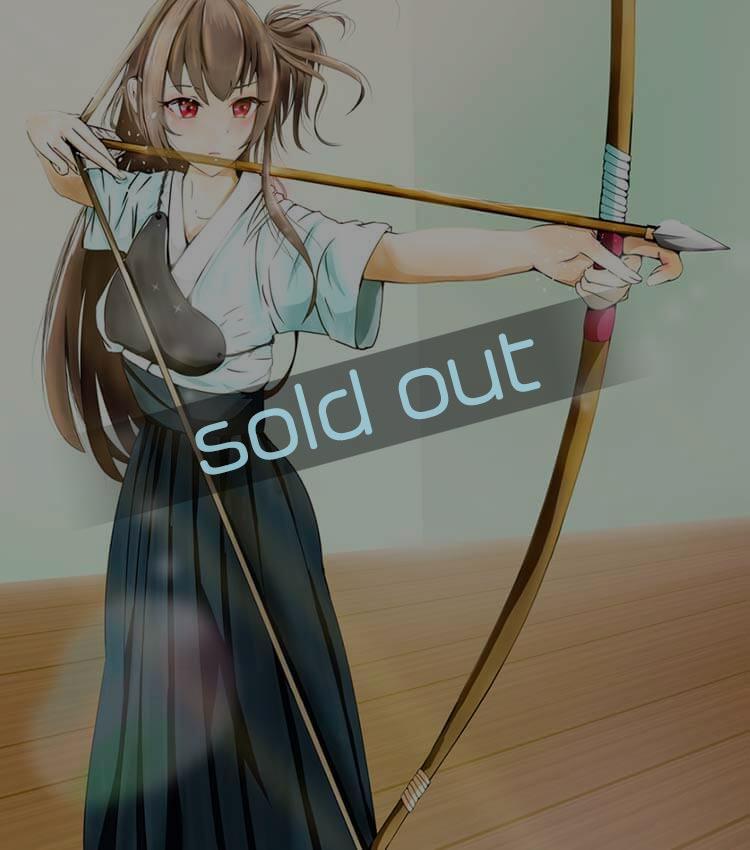 弓道の可愛い女の子