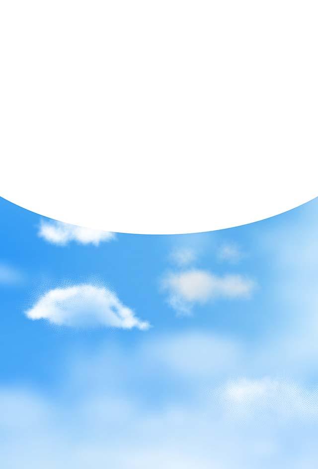 空背景素材27