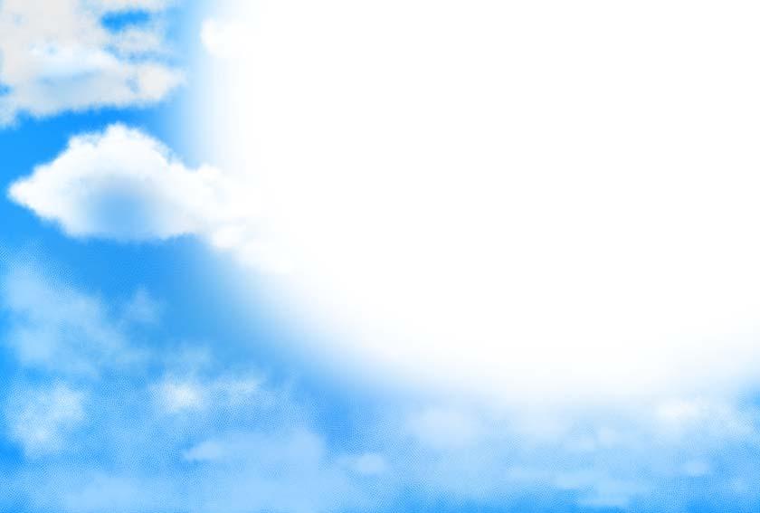 空背景素材1