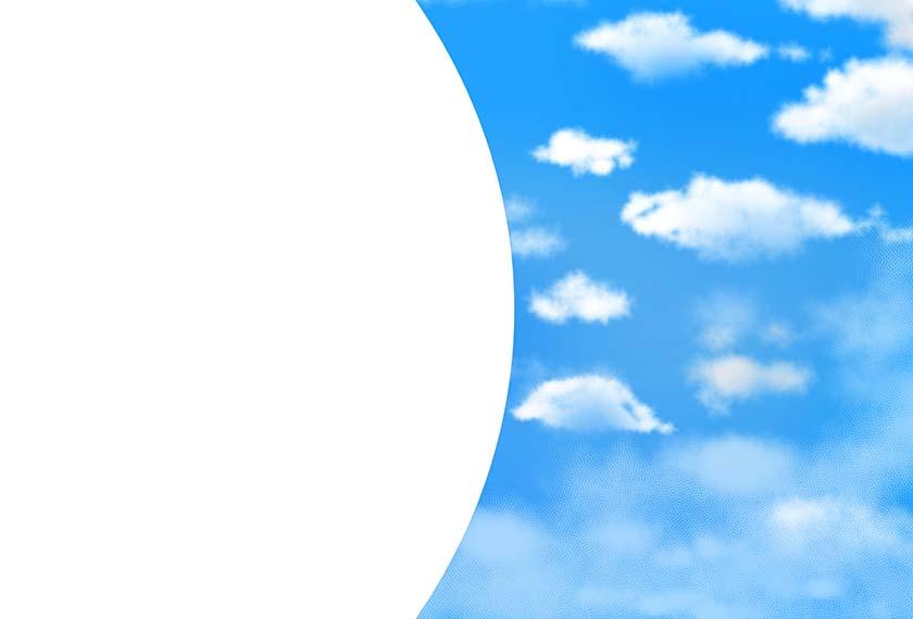 空背景素材10