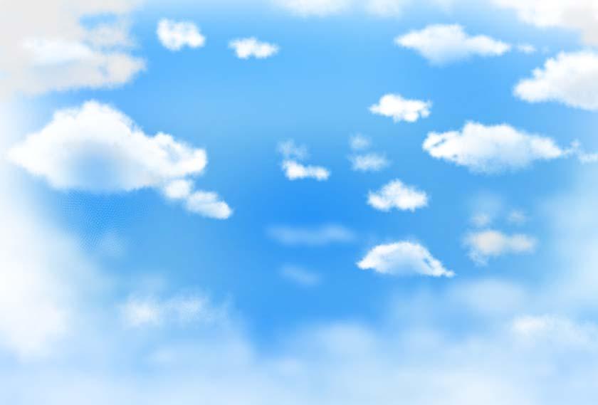 空背景素材18