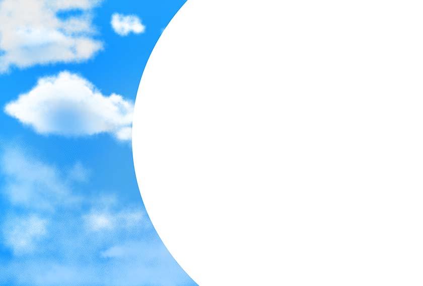 空背景素材4