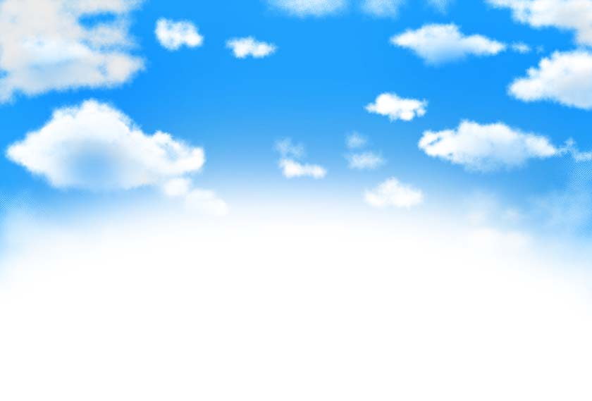 空背景素材5