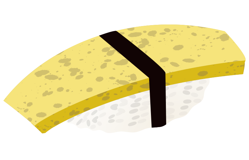 タマゴのイラスト
