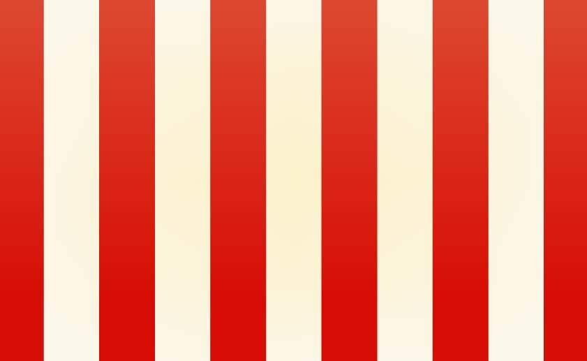 太いストライプ背景(紅白)のイラスト