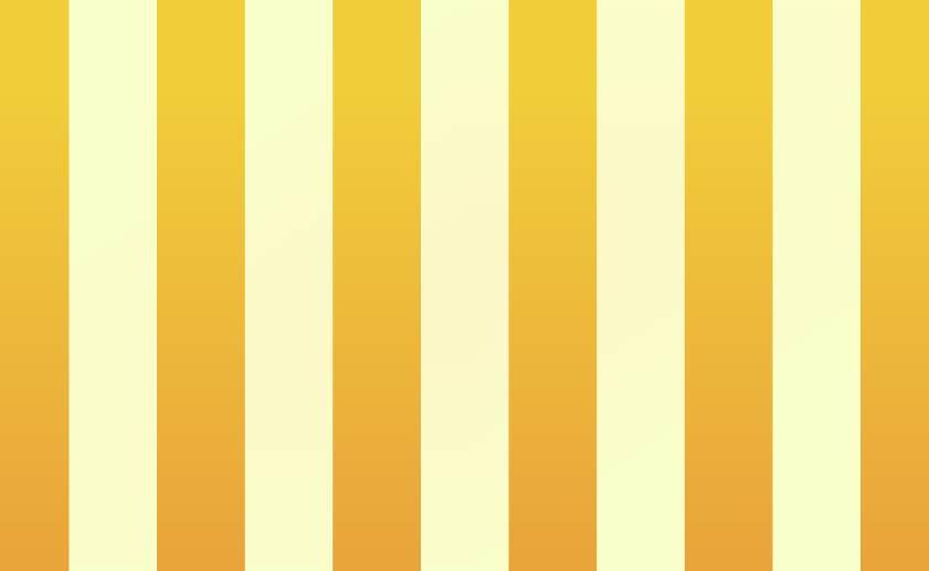 太いストライプ背景(黄色)のイラスト