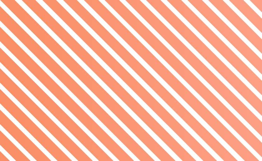 斜めストライプ背景(オレンジレッド)のイラスト2