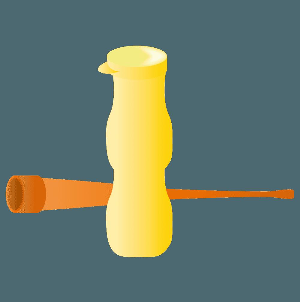 シャボン玉の道具イラスト