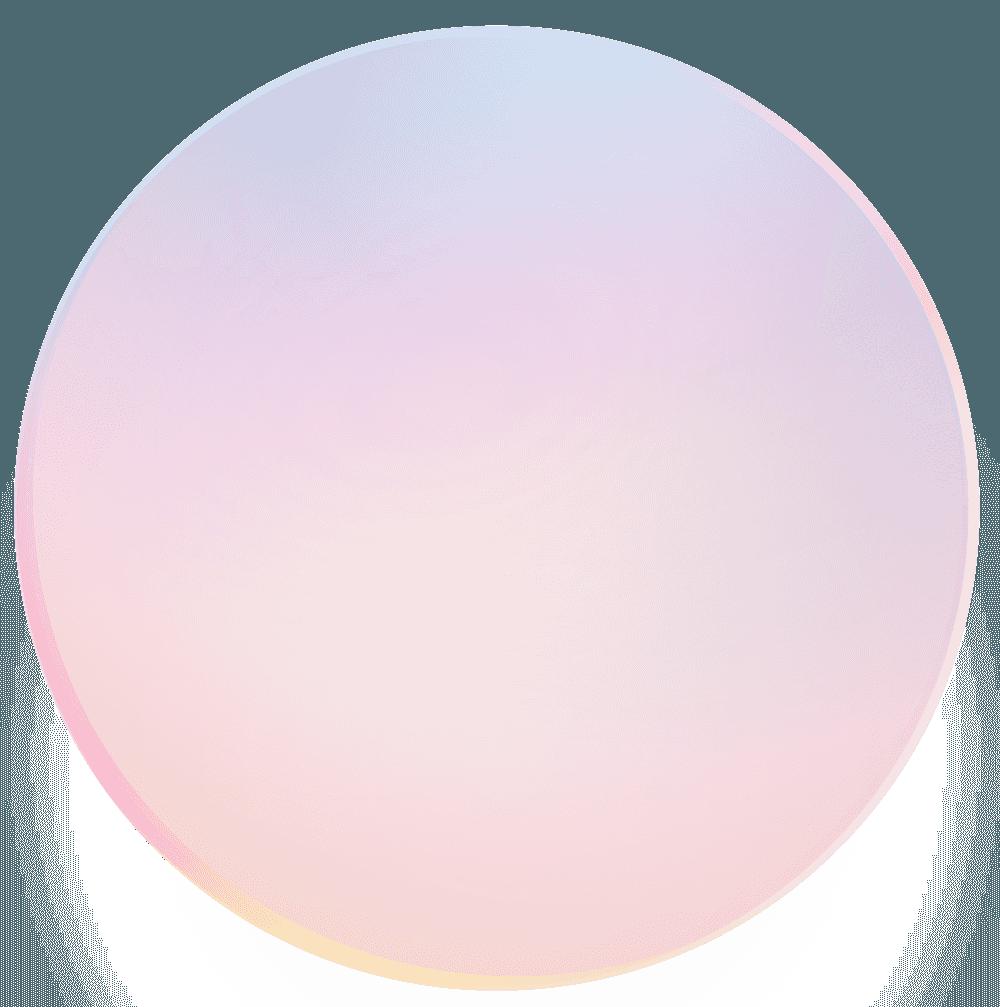 ペールトーンのシャボン玉イラスト