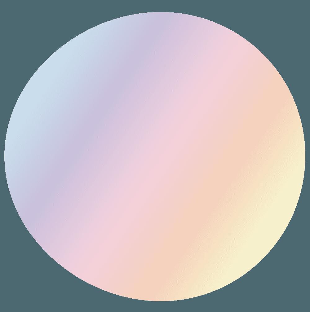 カラフルなシャボン玉イラスト