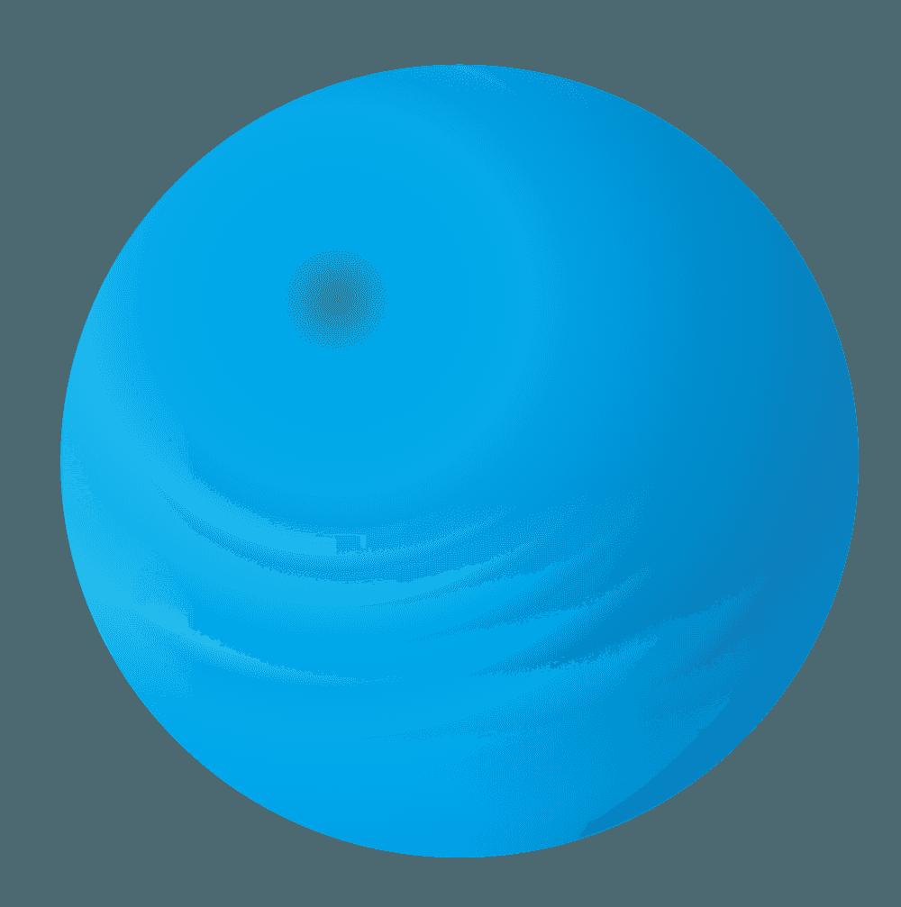 青いシャボン玉イラスト